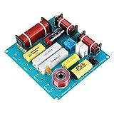 ASHATA 3 Way Crossover Audio Board Divisor de frecuencia de Audio, Altavoz Filtro de Cruce Filtro de...