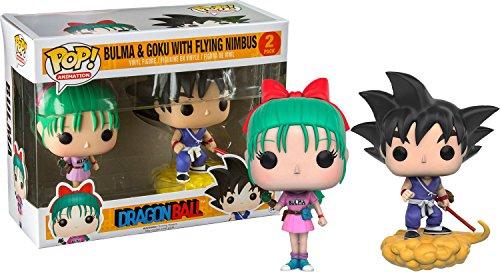 FunkoPOP!Dragon Ball: Bulma y Goku