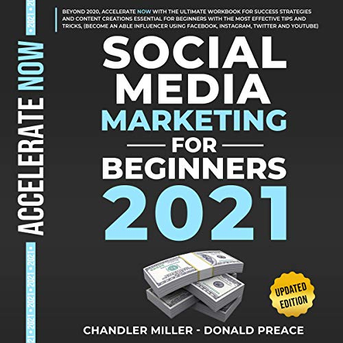 Social Media Marketing for Beginners 2021 cover art