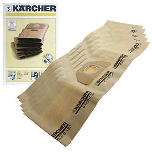 Wessper Sac daspirateur r/éutilisable pour K/ärcher WD 5.300 M