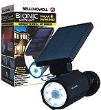 Bell+Howell Bionic Spotlight Deluxe LED Solar Lights Solar-Powered Spot Light with 25 Feet Motion Sensor Outdoor Waterproof Frost Resistant Yard Outdoor Lighting As Seen On TV -  Emson