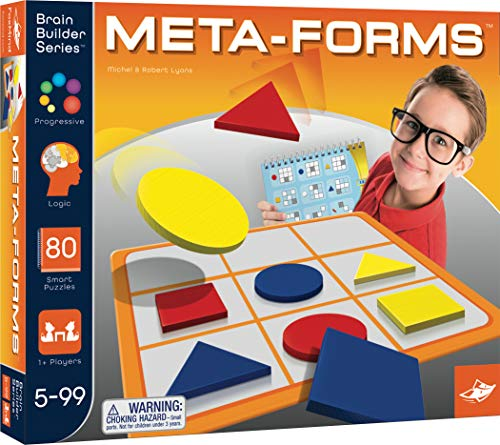 FoxMind Games, Meta-forms Brain Builder Series, Puzzle-Solving Brain Builder Game