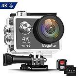 Bagotte Action Cam 4k Wi-Fi 16MP Impermeabile 30M Immersione Sott'Acqua 30fps Action...