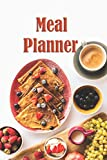 Meal Planner: Diet Meal Planner Weight Loss Control Meal Prep Planning Food Planner Menu List Daily Food Journal Notebook Notepad to organize your Own Grocery List in each day.