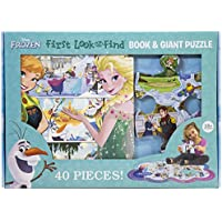 40-Piece Disney Frozen First Look and Find Board Puzzle Book