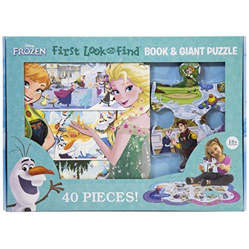 Disney Frozen Board Book & Giant 40 Piece Puzzle Now $9.99 (Was $21.99)
