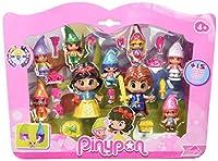Il pack include Biancaneve, Principe e 7 nanetti Rivivi la magica storia di Biancaneve con i personaggi Pinypon fiabe Le figure Pinypon stimolano divertimento e creatività, perchè combinabili!