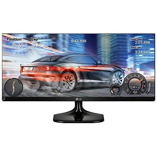"""LG 29UM58-P.AEU Ultrawide Écran PC LED IPS - 29"""" - 2560 x 1080 FHD - 250 cd/m2 - 1000:1 - 5 ms - 2xHDMI - Noir (2xHDMI)"""