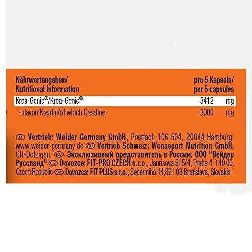 Weider Maximum Krea-Genic, 240 Kapseln, 1er Pack (1 x 208 g) - 8