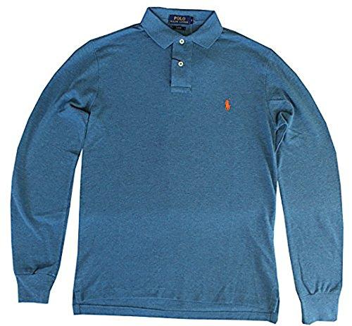 Polo Ralph Lauren Camiseta Polo Manga Larga Para Hombre Art. A12 KKCSL C8312 S Blu Marine - Blue Marine