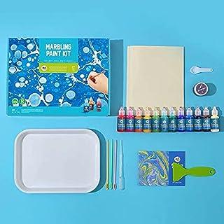 JarMelo Marbling 12 Colours Paint Kit, Multicolor