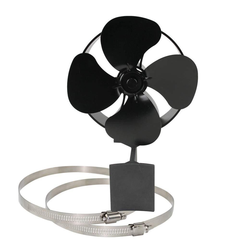 R-WEICHONG Ventilador de Pared para Estufa, silencioso, montado en ...