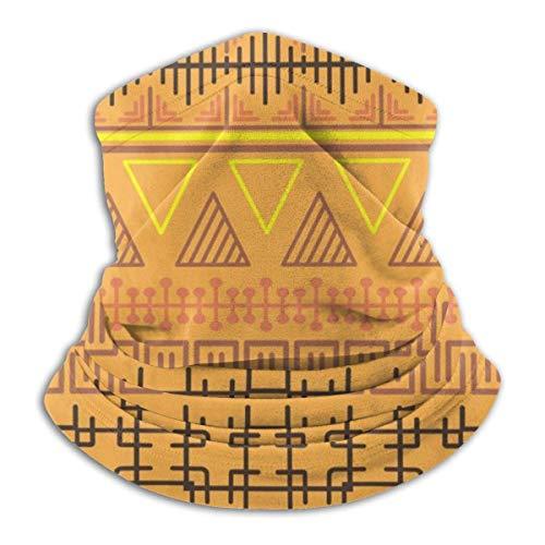 Lzz-Shop halsdoek Tribal Ethnic - haarband voor het haar wikkelsjaal halswarmer slangsjaal voor vissen sport sjaal voor het gezicht