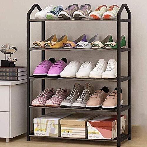 BRFDC Zapatero El Zapato del Zapato Simple Gabinete Casa compartida Barato Zapato gabinete a Prueba de Polvo Mujeres Gabinete Ahorro de Espacio del Zapato Gabinete Zapato pequeño gabinete