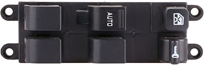 Window Switch Power Window Switch Master Control Switch Front Replacement fits for 1998-2001 Nissan Altima 1998-2004 Frontier 1998-1999 Sentra 2000-2004 Xterra Legacy Outback 2003-2006 Subaru Baja