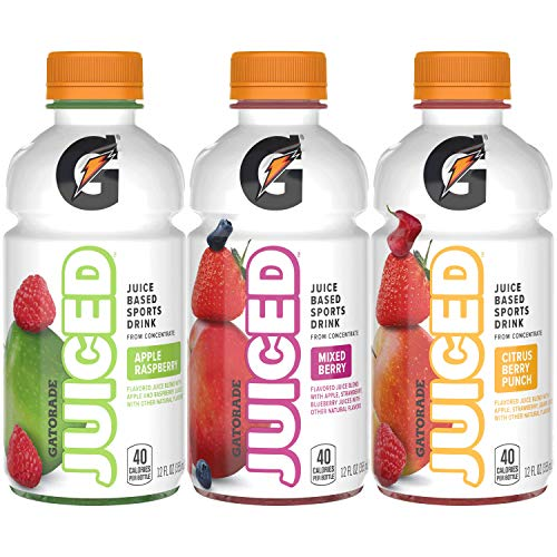 Gatorade Juiced, 3 Flavor Variety Pack, 12oz Bottles (18 Pack)