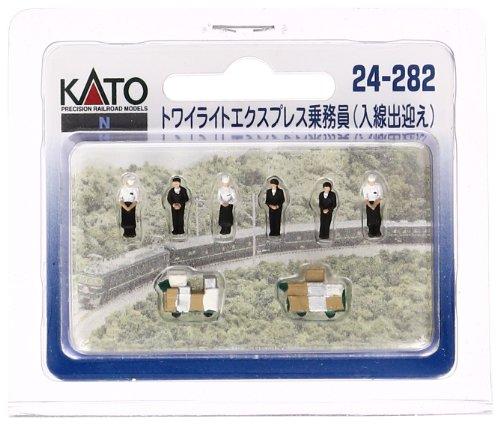 KATO Nゲージ トワイライトExp.乗務員 入線出迎 24-282 ジオラマ用品