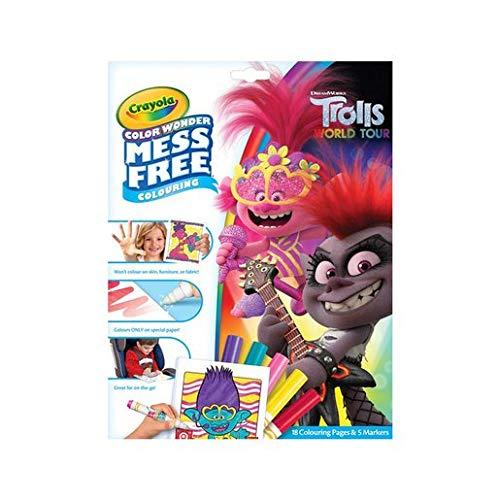 CRAYOLA- Trolls 2, Multicolor (75-4605-U-000)