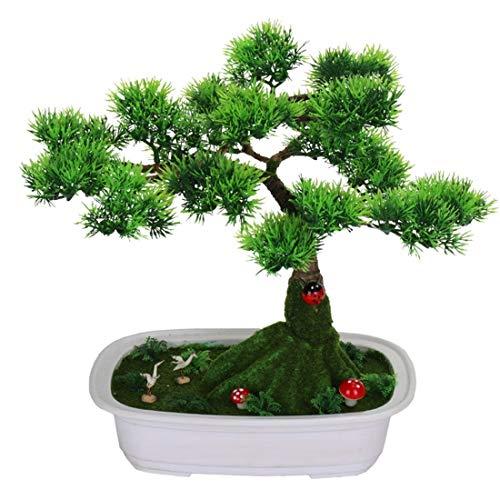 Huis perfetta milieuvriendelijk materiaal simulatie bloempotten Nordic vervalste pijnboenen en cipressen planten bonsai huishoudtextiel binnen woonkamer decoratieve ornamenten