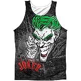 BATMAN Joker Sprays The City Mens Tank Blanco - Blanco - 3X-Large