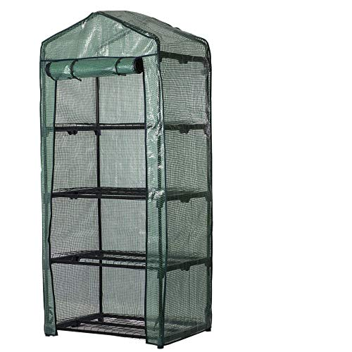 ATopoler 4 Tier Garden Greenhouse Cover Reinforced Replacement Cover Small...