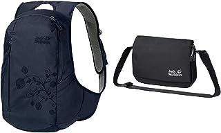 Jack Wolfskin Ancona, komfortabler Tagesrucksack für Frauen, Damen Rucksack mit schlankem Schnitt, praktischer Backpack ex...
