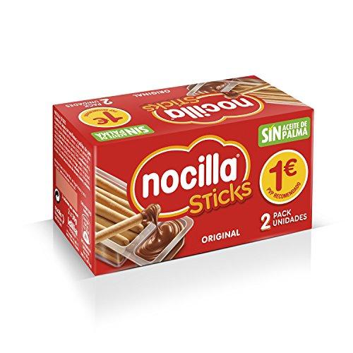 Sticks Nocilla Original-Sin Aceite de Palma-Pack de 2