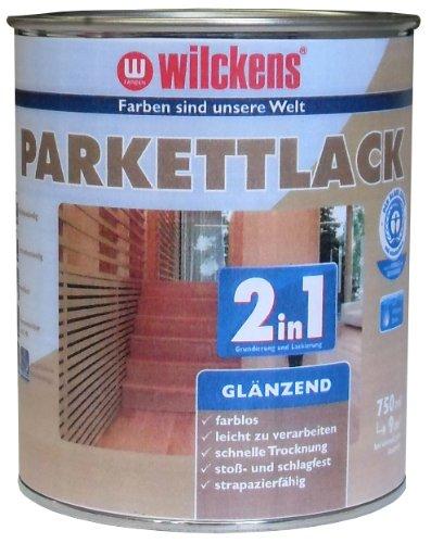 Wilckens 2in1 Parkettlack glänzend, farblos, 750 ml 10400100050