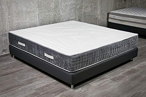 Fantastic Deal! Crystal Mattress Soft and Comfortable Mattress (CA King 72 x 12 x 84in, No Set)