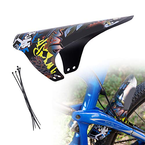 Kampre Spatbord voor mountainbike, draagbaar spatbord voor en achter