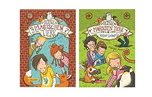 Carlsen Verlag Die Schule der magischen Tiere 1: Die Schule der magischen Tiere + Die Schule der magischen Tiere 2: Voller Löcher! (Hardcover), Kinderbuch der Bestsellerreihe!