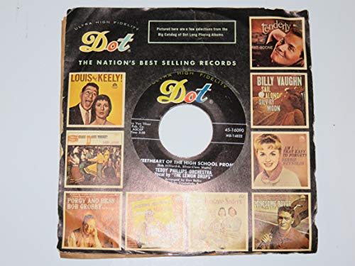 CRAZY FEVER BLUES / SWEETHEART OF THE HIGH SCHOOL PROM (45/7