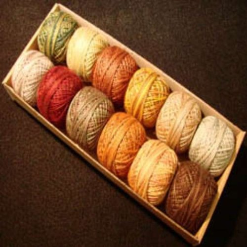 Great Price! Valdani Perle Cotton Size 12 Embroidery Thread Country Lights Set 2 Sampler