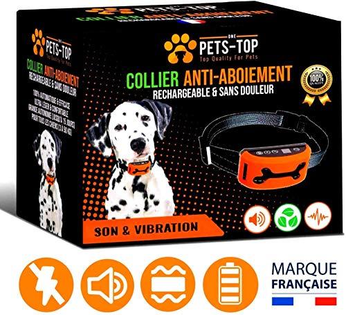 Collier de Dressage pour Chien Electrique One PETS-TOP