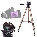 DURAGADGET Trípode Profesional para Videocámara ESDY 720P | inkint 16x Full HD | Panasonic...