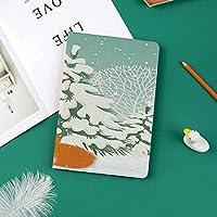 IPad Pro 11 ケース 2018新モデル対応 二つ折スタンド保護ケース iPad Pro 11インチ 専用カバー オートスリープ機能付き 手帳型 タブレットカバー冬の森に座っているレッドフォックス雪覆われた松の木クリスマス漫画装飾的な