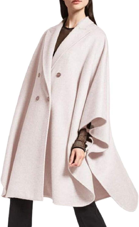 Xswsy XGCA Women's Wool Blended Thigh Length Elegent Cloak Coat ALine Outwear
