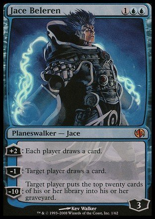 Magic The Gathering - Jace Beleren - Duel Decks: Jace vs Chandra