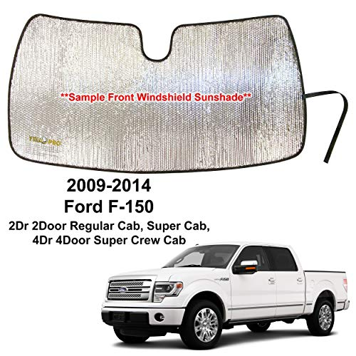 YelloPro Custom Fit Reflective Front Windshield Sunshade for 2009 2010 2011 2012...