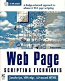 Web Page Creative Techniques: JavaScript, VBScript, and Advanced HTML, with CDROM by Hayden Development Group (1996-01-01) - Hayden Development Group