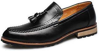 [Agogoo] 革靴 メンズ ローファー カジュアルシューズ メンズシューズ オールシーズン 軽量 クッション性 就活 通勤