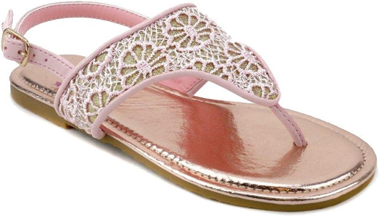 Olivia Miller Girl Aerin Crochet Sandals