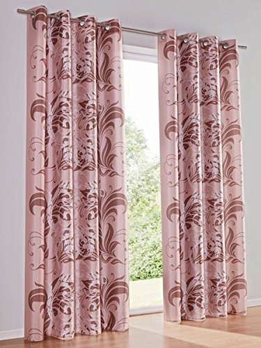 Dekoschal, Farbe Rosa, 1 Stück, Heine Home, Gardinen, Gardinen, Größe: ca. HxB: 245x140 cm, mit Ösen