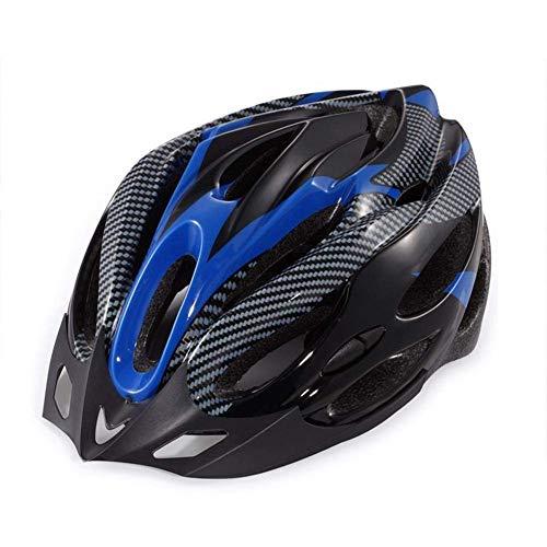 kyman Casco de Bicicleta, Azul Unisex Negro Ciclismo Casco de equitación Universal...
