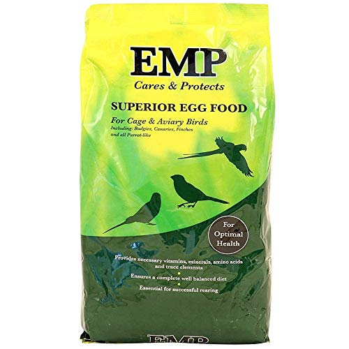 EMP Superior Egg Food Cage and Aviary Birds Complementary Feed 2.5KG