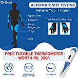 Dr Trust (USA) Fully Automatic Blood Sugar Testing Glucometer Machine with 60 Strips