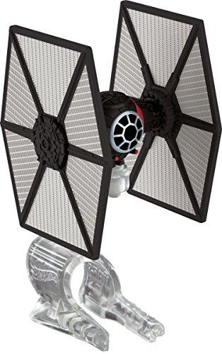 Hot Wheels Star Wars, Le réveil de la Force - Vaisseau Starship du Premier Ordre - Tie Fighter (Ckj67)
