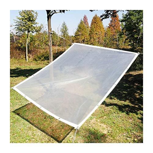 ANHPI--tarpaulins Bâche imperméable Transparent Boutonnière Métal Jardin extérieur Protection de Pluie Pliable Durable PE en Plastique, Tailles Personnalisables (Color : C, Size : 5m*10m)