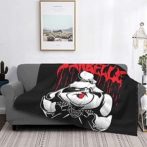 Isabelle - Manta de lana súper suave, apta para sofá cama y camping