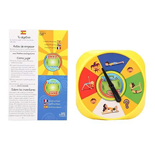 Jadpes Tarjetas de Juego de Yoga Pla, de Yoga Tarjetas para niños Patrón de Juego Interactivo Juegos de Rompecabezas Juguetes educativos para niños pequeños Niños Niños Niñas Edad 3+ años